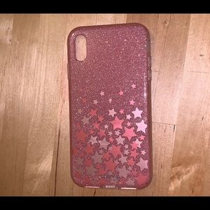 Accessories - iPhone X max plus glitter sparkle case